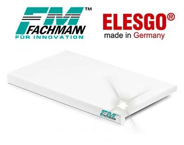 Подоконник FACHMANN белый глянец ELESGO