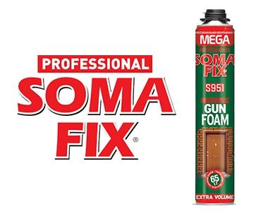 Монтажная пена SOMA MEGA S951 850мл