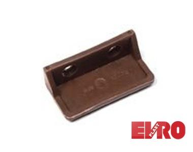 Ручка для дверной сетки 17х25 коричневая