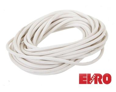 Шнур для москитной сетки белый