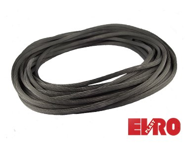 Шнур для москитной сетки черный