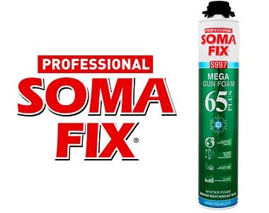 Монтажная пена Soma FIX MEGA 850 МЛ ЗИМА S997
