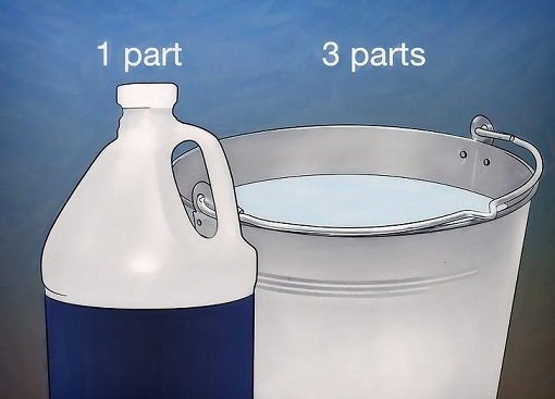 раствор для мытья